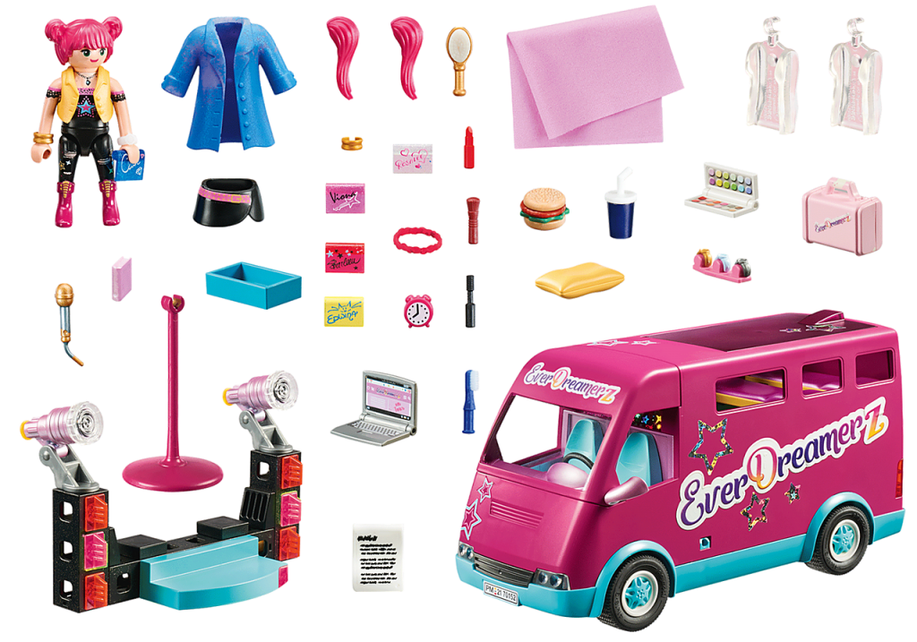 Playmobil 70152 - EverDreamerz Tour Bus - Back