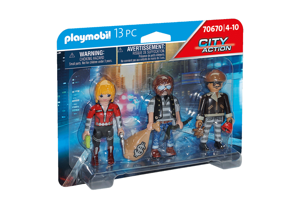 Playmobil 70670 - Thief Figure Set - Box