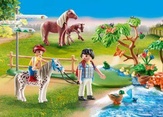 Playmobil - 70512 - Adventure Pony Ride