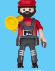 Playmobil - 30792954 - Machinist