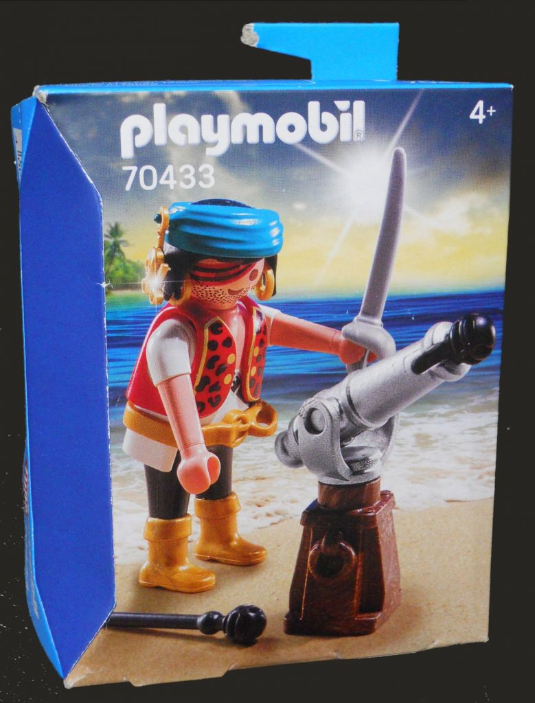 Playmobil 70433 - Pirate with cannon - Box