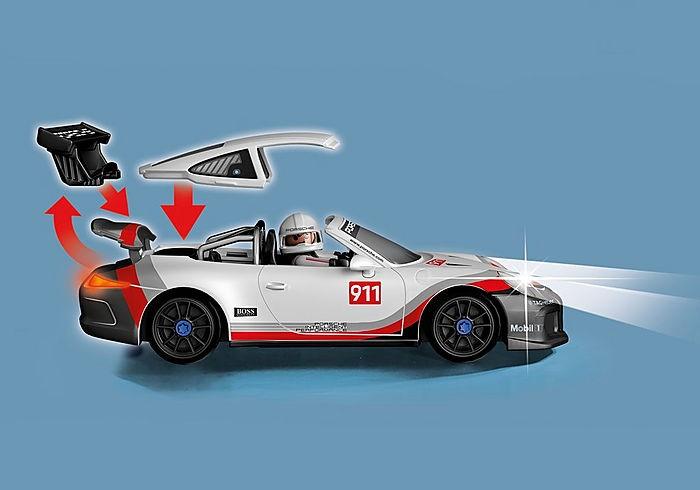 Playmobil 70764-ger - Porsche 911 GT3 Cup - Back