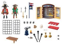 Playmobil 70506 - Pirate Adventure Play Box - Back
