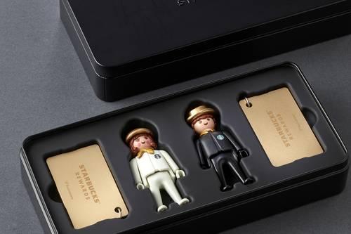 Playmobil STARBUCKS PLAYMOBIL GOLD CARD-kor - STARBUCKS PLAYMOBIL GOLD CARD - Box