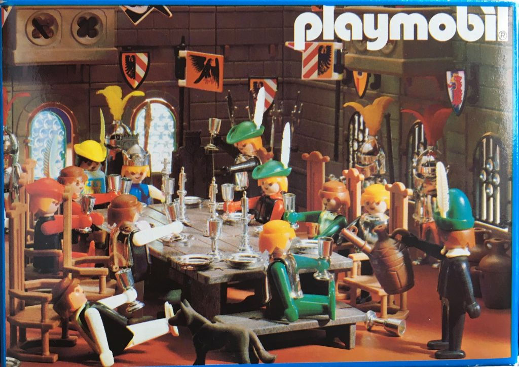 Playmobil 3905-esp - King And Queen - Back