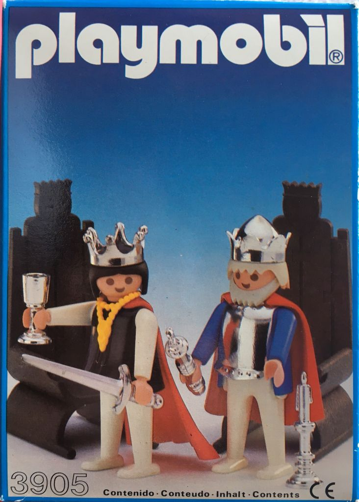 Playmobil 3905-esp - King And Queen - Box