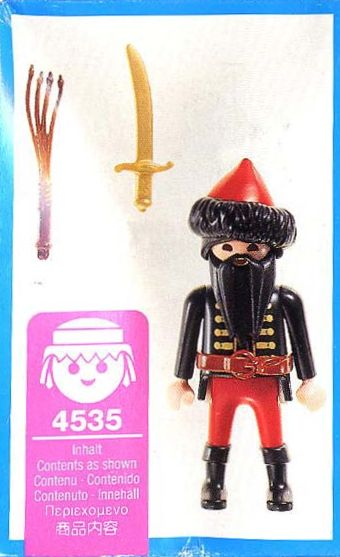 Playmobil 4535 - Cossack - Back