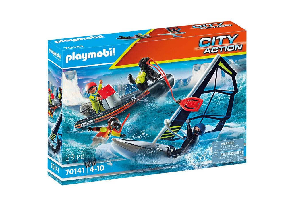 Playmobil 70141 - Water Rescue with Dog - Box