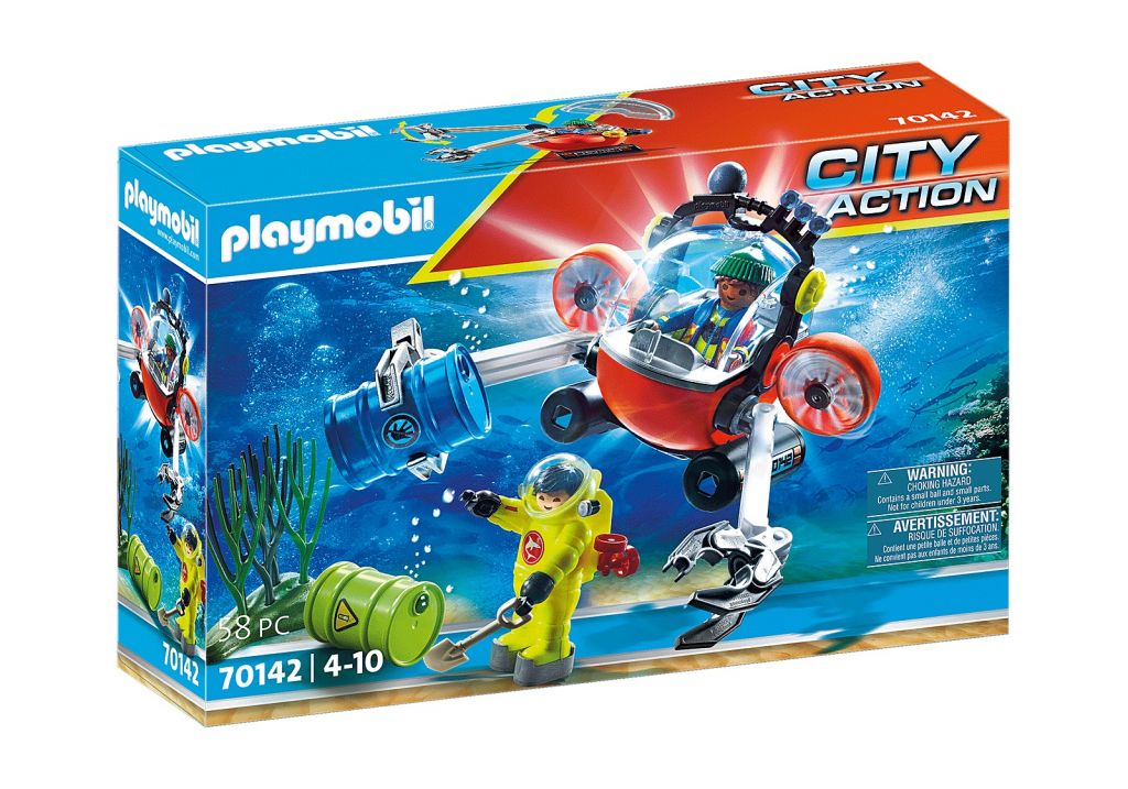 Playmobil 70142 - Environmental Expedition with Dive Boat - Box