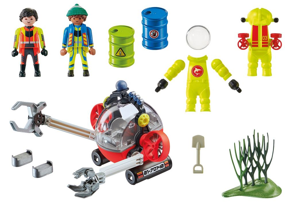Playmobil 70142 - Environmental Expedition with Dive Boat - Back
