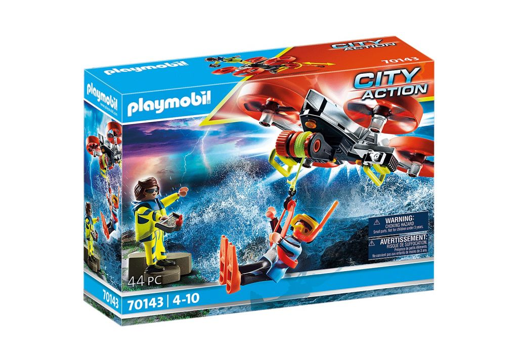 Playmobil 70143 - Diver Rescue with Drone - Box
