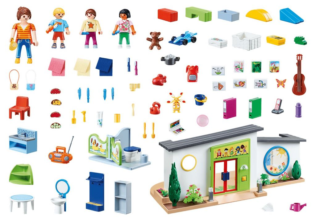 Playmobil 70280 - Rainbow Daycare - Back
