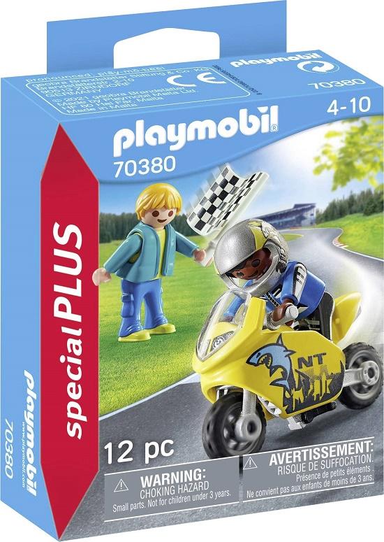 Playmobil 70380 - Kids with minibike - Box