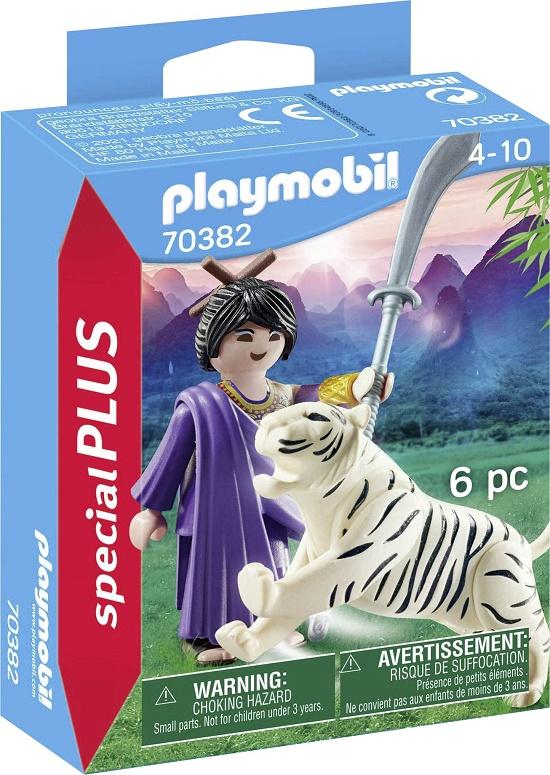 Playmobil 70382 - Ninja warrior with tiger - Box