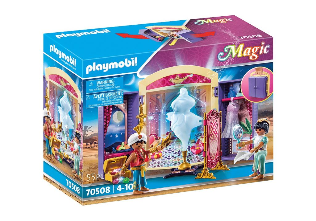 Playmobil 70508 - Princess and Genie Play Box - Box