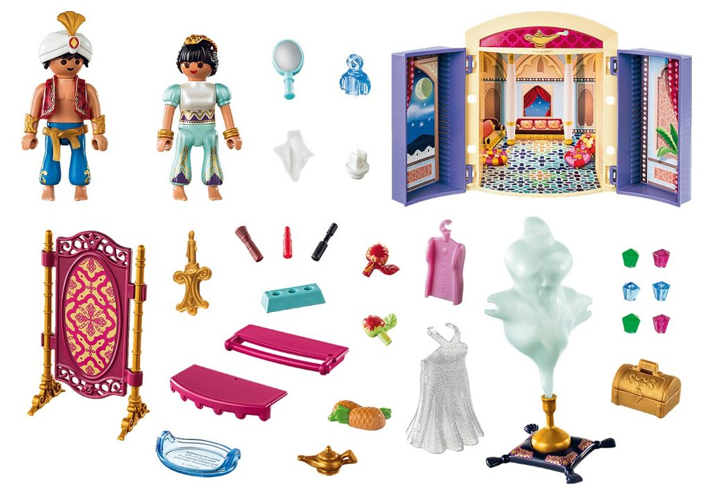 Playmobil 70508 - Princess and Genie Play Box - Back