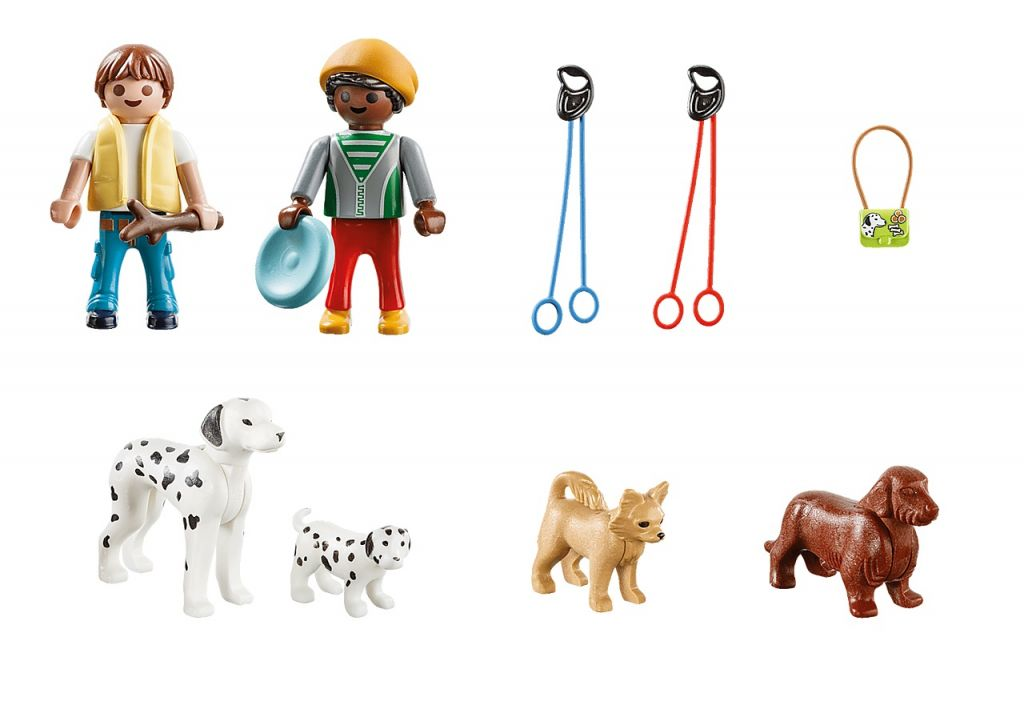 Playmobil 70530 - Puppy Playtime Carry Case - Back