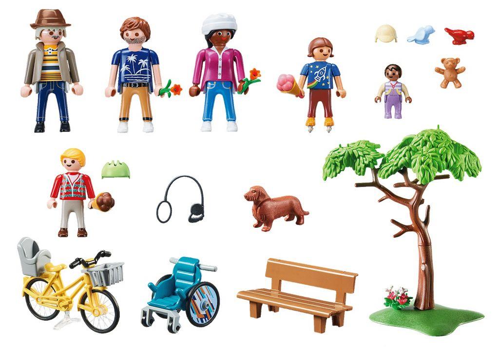 Playmobil 70542 - My City Park - Back