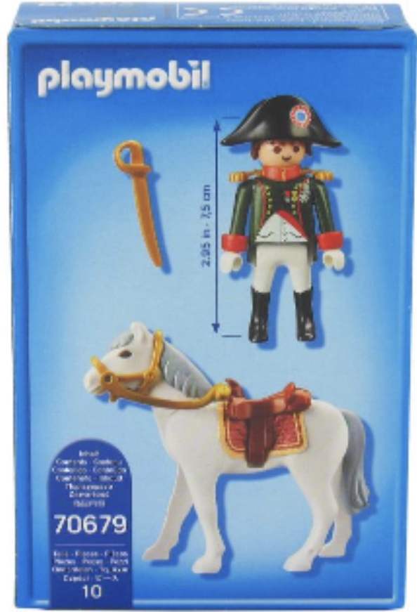 Playmobil 70679-ger-fra - Napoleon - Back