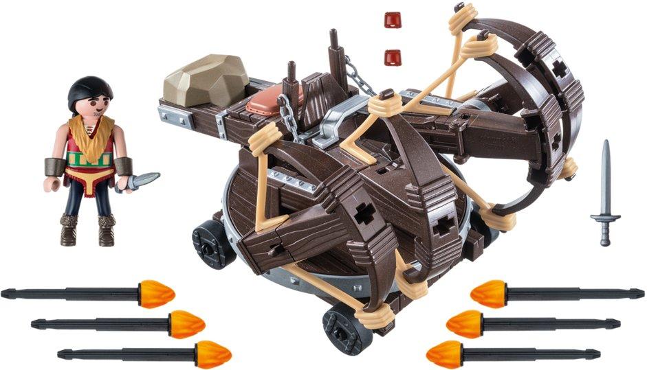 Playmobil 9249 - Eret with 4 Shot Fire Ballista - Back