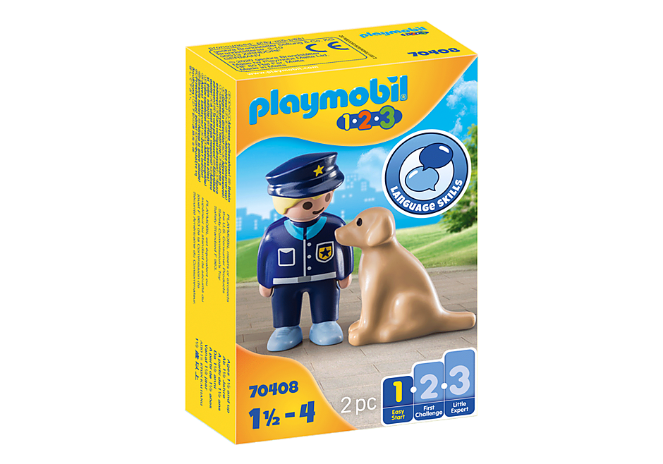 Playmobil 70408 - Police Officer with Dog - Box