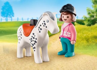Playmobil - 70404 - Rider with Horse