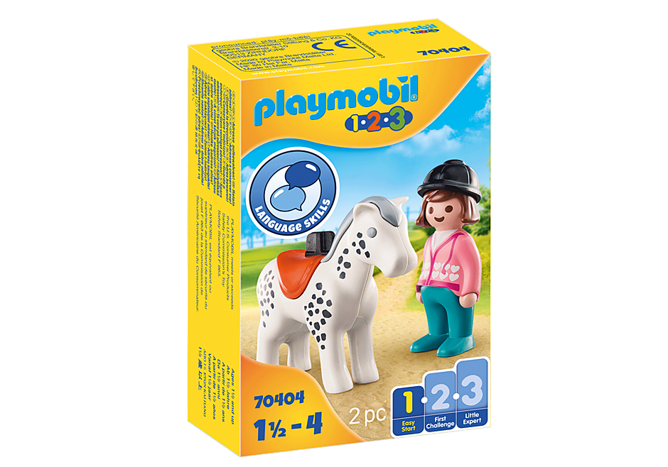 Playmobil 70404 - Rider with Horse - Box