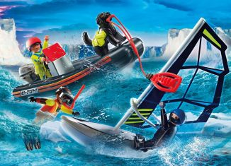 Playmobil - 70141 - Water Rescue with Dog