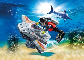 Playmobil - 70145 - Diving Scooter