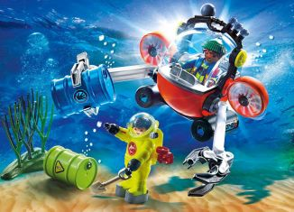 Playmobil - 70142 - Environmental Expedition with Dive Boat