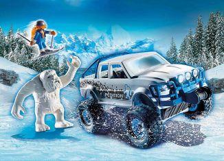 Playmobil - 70532-usa - Snow Beast Expedition