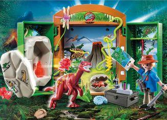 Playmobil - 70507 - Dino Explorer Play Box