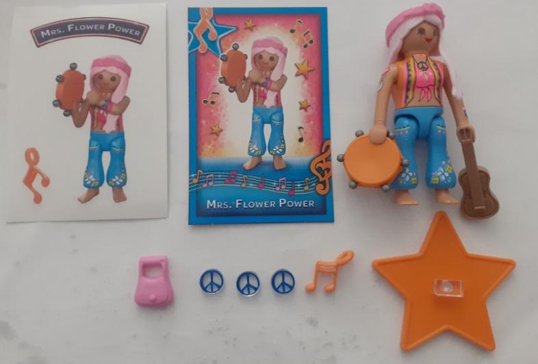Playmobil 70585-10 - Mrs. Flower Power - Back