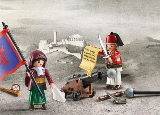 Playmobil - 70761-gre - Greek revolution 1821-1830