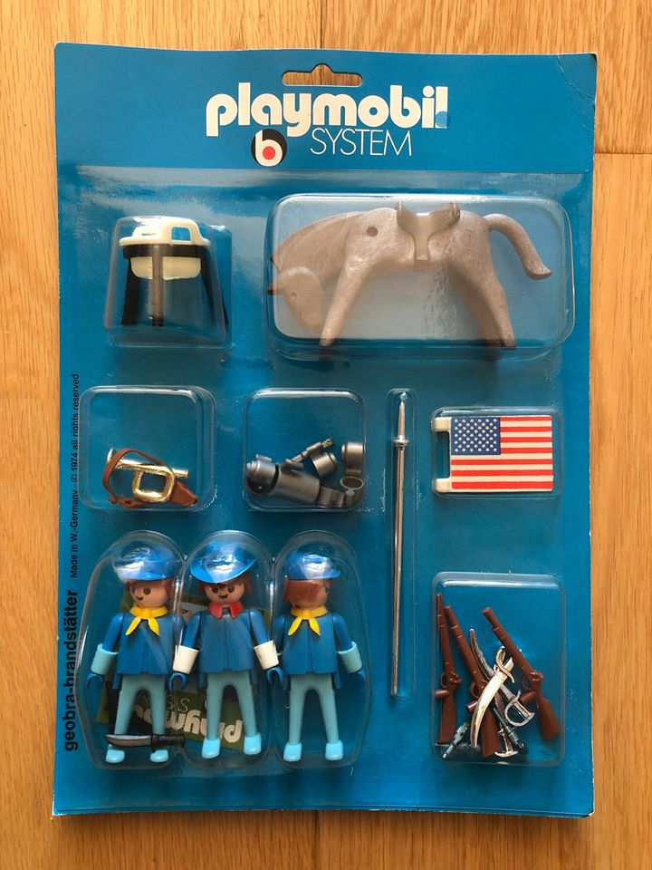 Playmobil 3274 - US Cavalry blister - Box