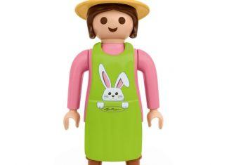 Playmobil - 4081586 - XXL Lechuza Gardener Woman Easter Edition