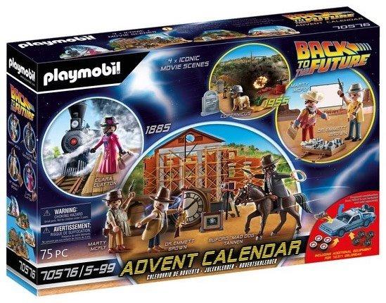 Playmobil 70576 - Back to the Future Part III Advent Calendar - Box