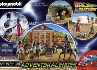Playmobil - 70576 - Back to the Future Part III Advent Calendar