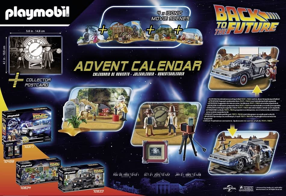 Playmobil 70576 - Back to the Future Part III Advent Calendar - Back