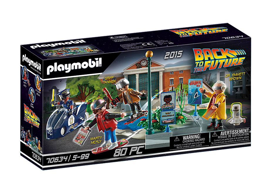 Playmobil 70634 - Hoverboard Chase - Box