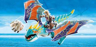 Playmobil - 70728 - Dragon Racing: Astrid with Stormfly