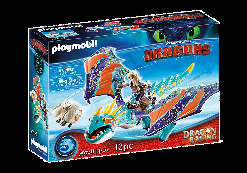 Playmobil 70728 - Dragon Racing: Astrid with Stormfly - Box