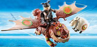 Playmobil - 70729 - Dragon Racing: Meatlug and Fishlegs