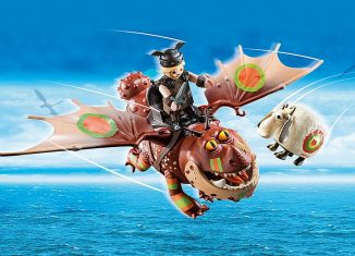 Playmobil - 70729 - Dragon Racing: Meatlug and Fishlegs