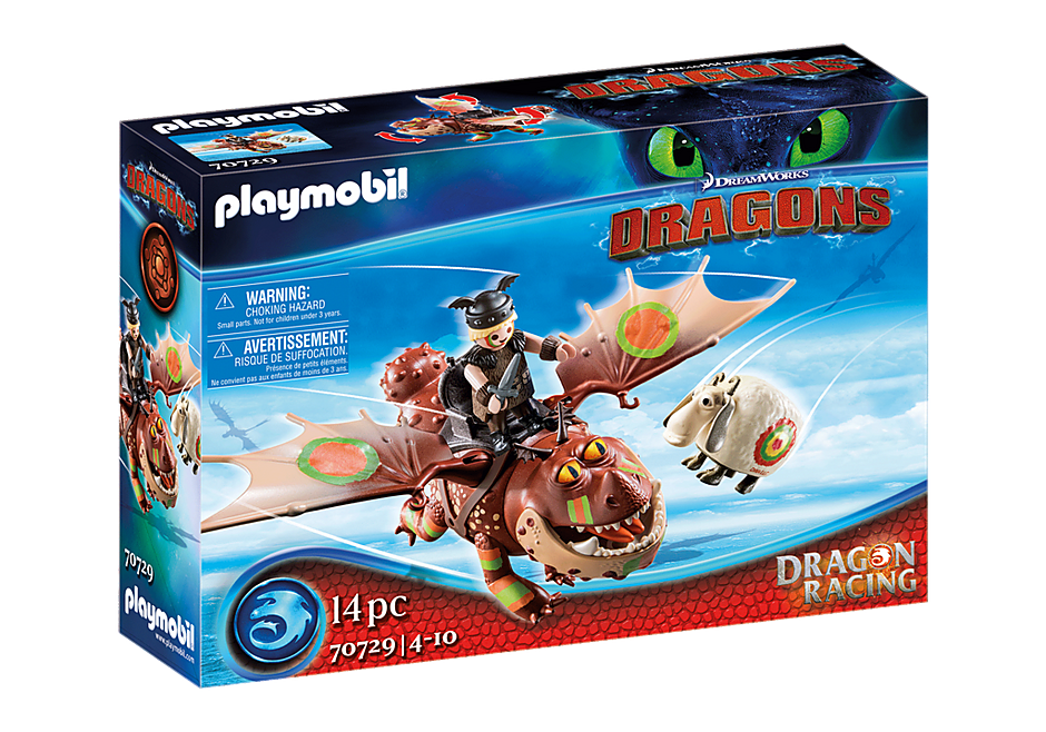 Playmobil 70729 - Dragon Racing: Meatlug and Fishlegs - Box