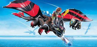 Playmobil - 70727 - Dragon Racing: Hicks with Toothless