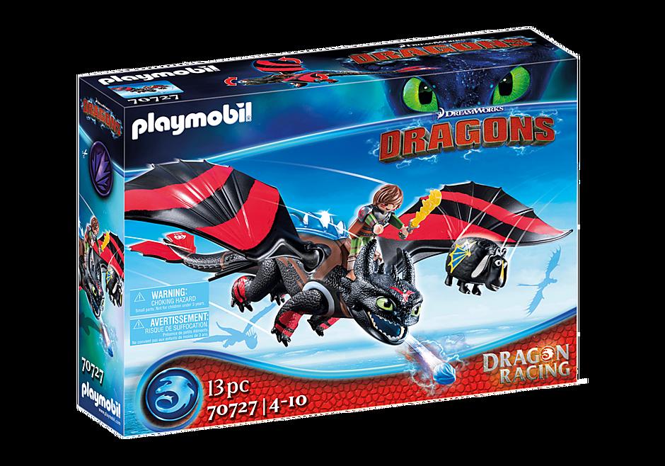 Playmobil 70727 - Dragon Racing: Hicks with Toothless - Box