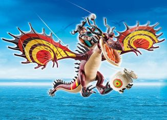Playmobil - 70731 - Dragon Racing: Snoutlout & Hookfang