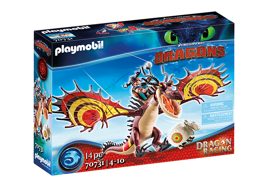 Playmobil 70731 - Dragon Racing: Snoutlout & Hookfang - Box