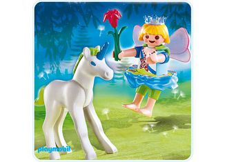 Playmobil - 4692-A - Fairy with baby unicorn